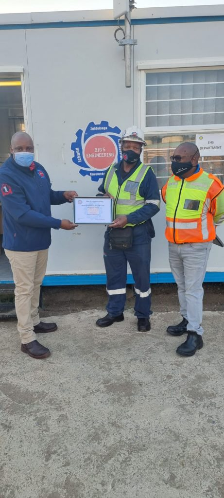 SUPERVISOR OF THE MONTH: AUGUST 2021