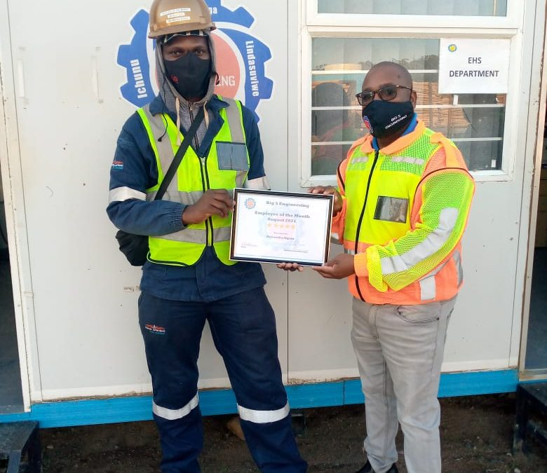 EMPLOYEE OF THE MONTH: AUGUST 2021